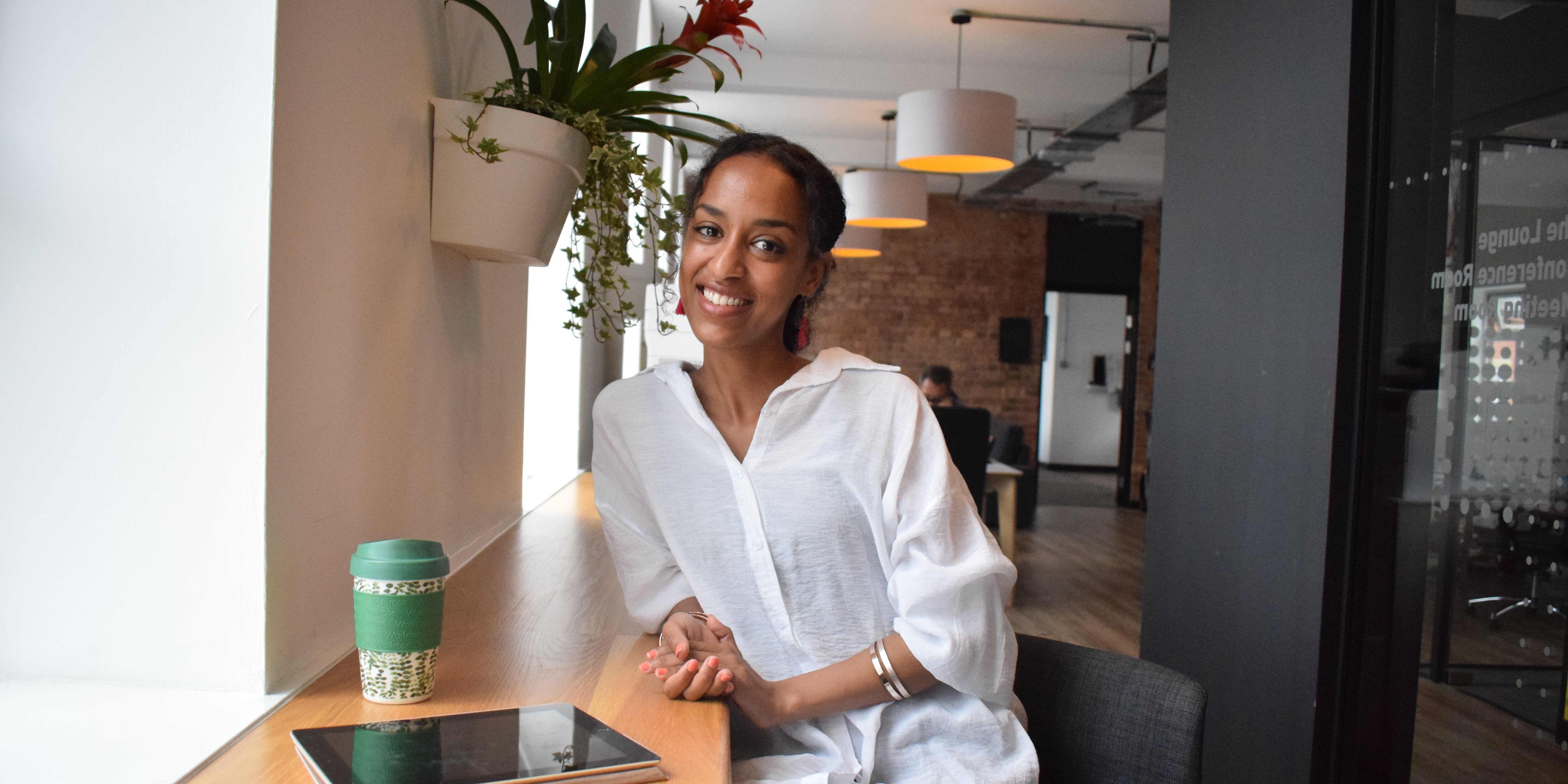 Meet Adiam, one of our Cooper Project startups