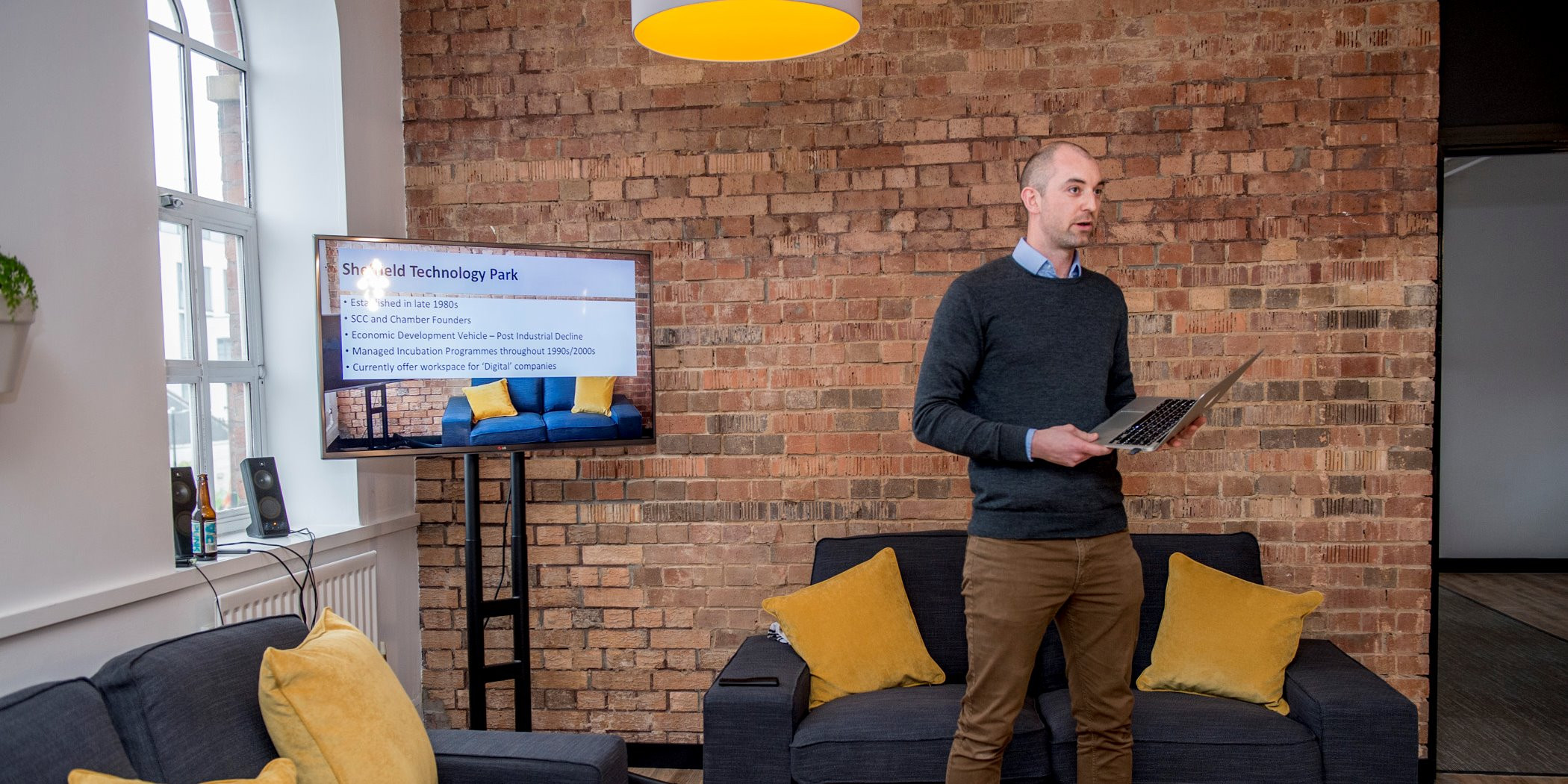 Sheffield Technology Parks opens doors to eight local tech and digital sector start-ups