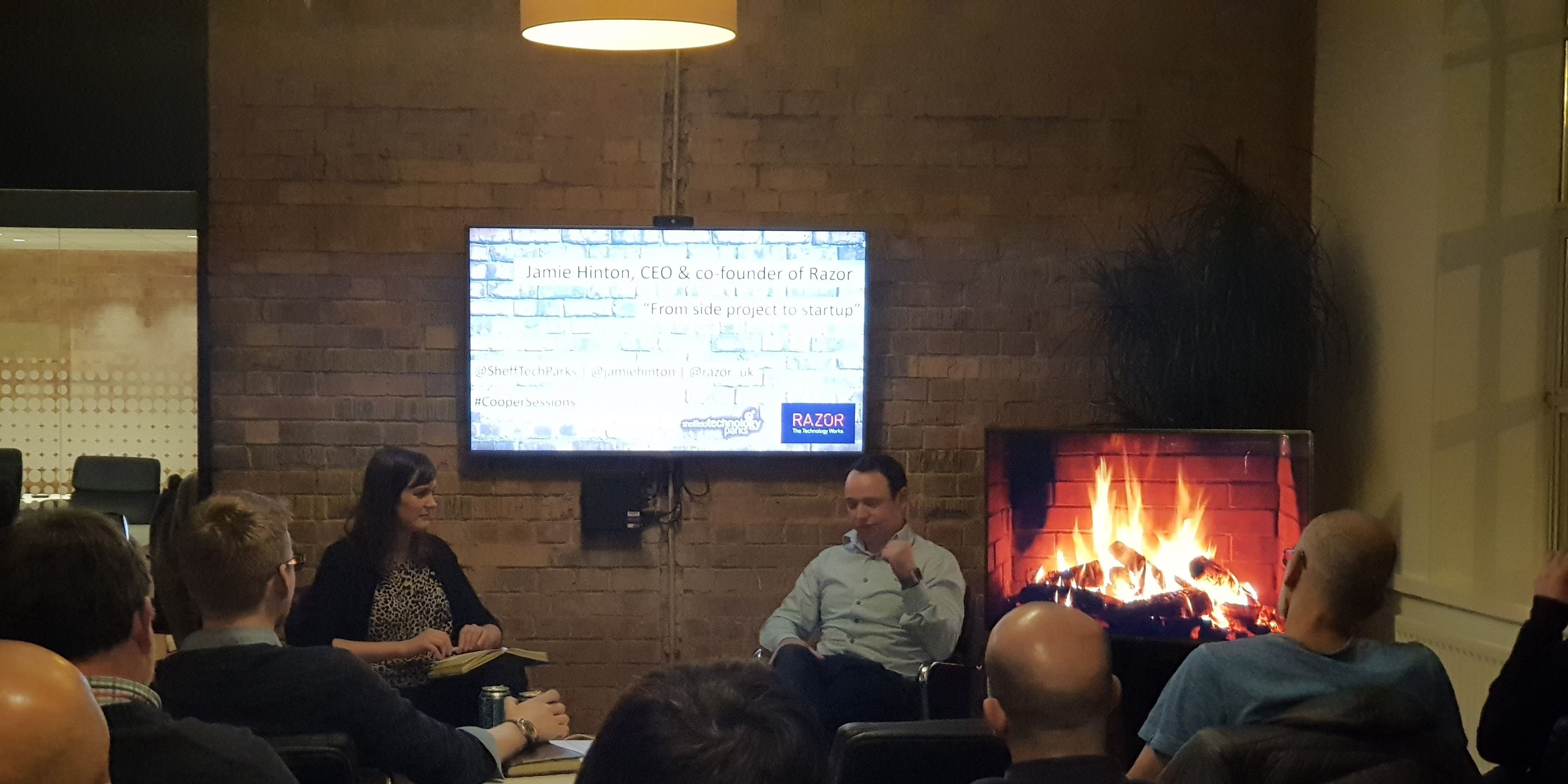 Cooper Sessions Launch with Jamie Hinton Fireside Chat